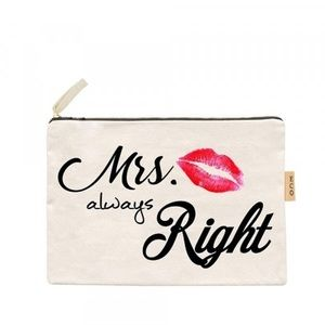 ⭐️COMING SOON⭐️Mrs. Always Right wristlet pouch